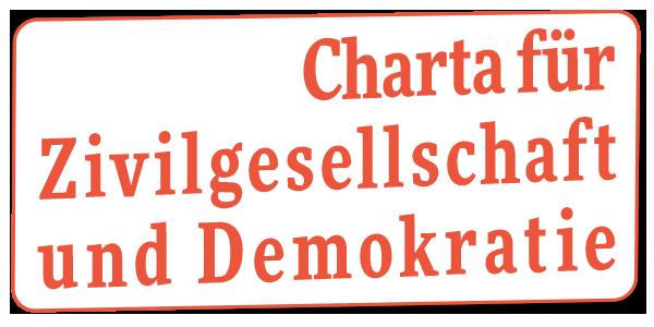 Bannerbild zur Charta für Zivilgesellschaft und Demokratie